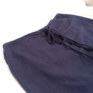 Kendall & Kylie Navy Blue Skirt